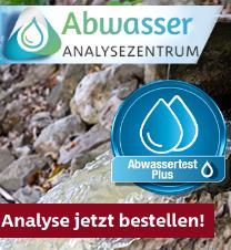 Abwassertest für Brauerein