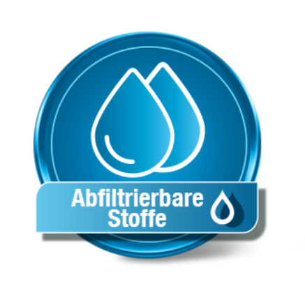 Abfiltrierbare Stoffe Test