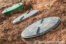 Pflanzenkläranlage für Abwasser